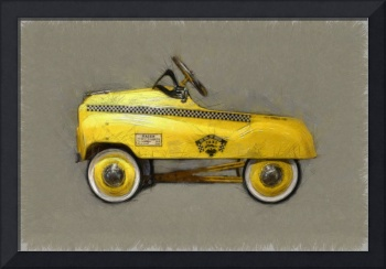 Antique Pedal Car lll
