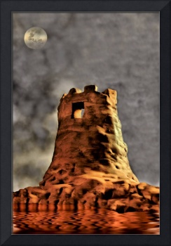 TOWER - March Castle Ruins, v.5, Edit E, a Sci-Fi