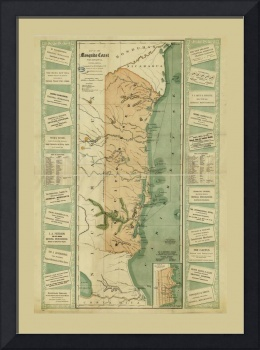 Map of the Mosquito Shore, Nicaragua (1894)