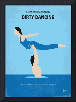 No298 My Dirty Dancing minimal movie poster