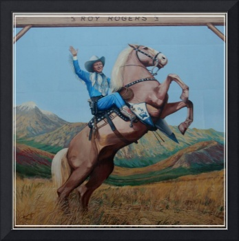 Roy Rogers Wall Mural