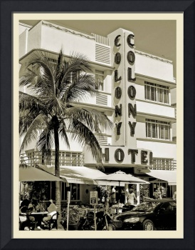 South Beach Art Deco Hotel, Miami Beach