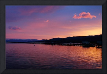 Evening at Lake Tahoe!