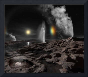 Pluto may have hot springs and geysers erupting li