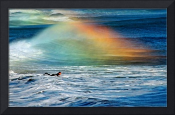 Rainbow Surfer