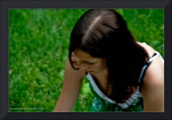 Girl in park - New Mexico