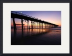 Carolina Beach Pier Sunrise by Wayne Moran