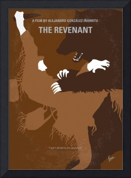 No623 My The Revenant minimal movie poster