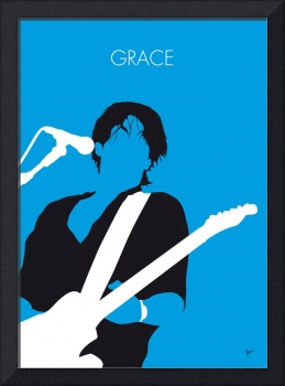 No129 MY Jeff Buckley Minimal Music poster