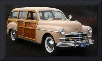 Plymouth Woodie Wagon by Jennifer Rysdyk