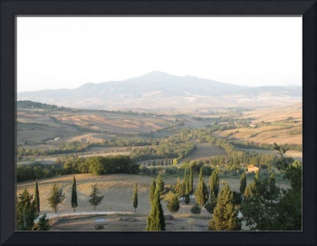 Tuscany view  Italy Summer 2012