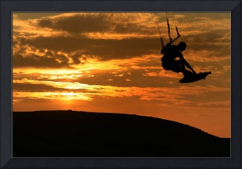 Kristine Boese - Sunset Kite Surf