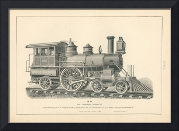 Fig.43 - Fast Passenger Locomotive Engraving