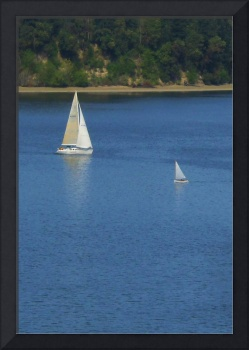 Sail Boats Passing
