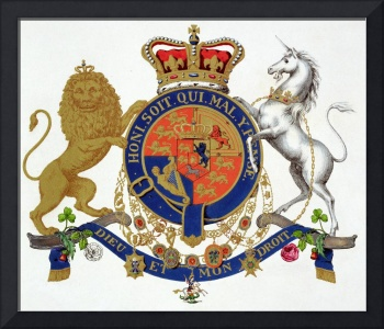 Crest of the King of the United Kingdom of Great B