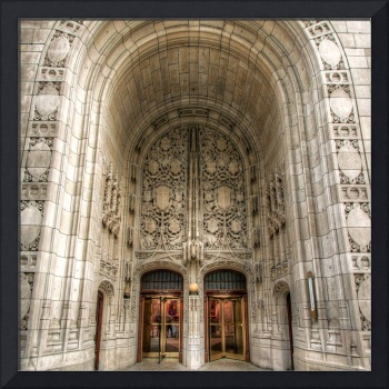Chicago Tribune Doors