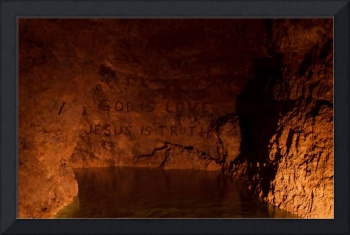 Cave Wall Message Ancient of Days