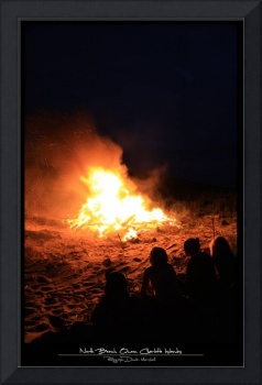North Beach Bonfire