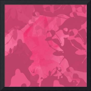 ORL-718 Rose Abstract Painting II