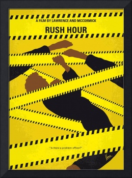 No816 My Rush Hour minimal movie poster