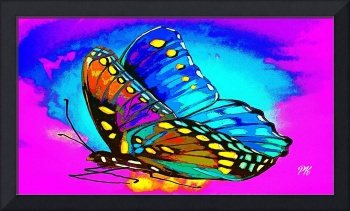 Abstract Butterfly Art 21