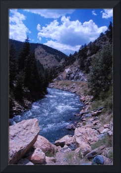 rocky mountains stream
