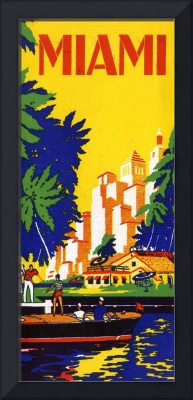 Vintage Miami Florida Travel