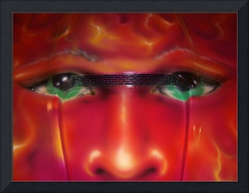 Flame Face Airbrush by Darren Sears, Artist
