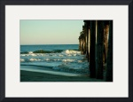Waves Under the Pier 0457 by Jacque Alameddine