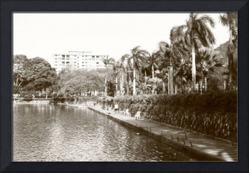 Little Town Singapore, Original Monochrome