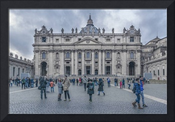 Saint Peters Square, Vatican City, Italy