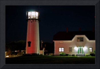 Chatham Lighthouse at Night