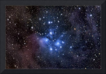 The Pleiades, also known as the Seven Sisters.