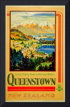 Vintage Queenstown New Zealand Travel