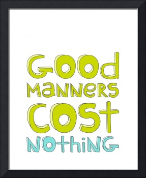 Good Manners Bright