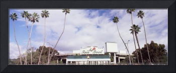Facade of a stadium Rose Bowl Stadium Pasadena Lo