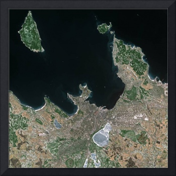 Tallinn (Estonia) : Satellite Image