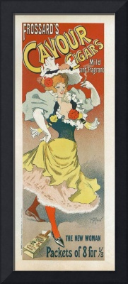 Frosards Cavour Cigars, 1895 French Vintage Poster