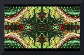Marooned Scifi Symmetrical Abstract