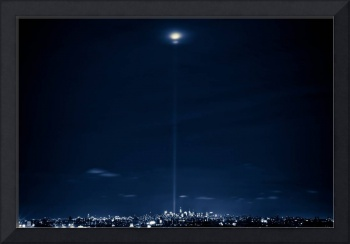 Tribute in Light WTC, NYC.