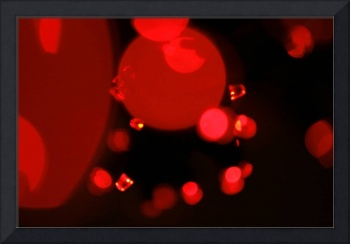 Little Red Lights Abstract Art to Buy