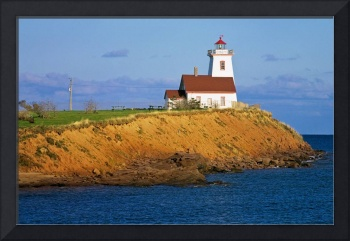 Lighthouse On Prince Edward Island, Canada