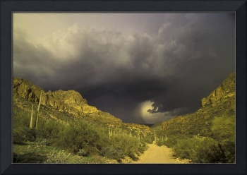 Storm Over Superstition Mountain