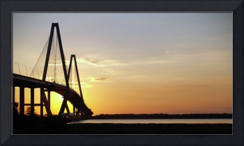 Arthur Ravenel Bridge Charleston SC Photo by Ginet