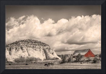 Just an Old Western Landscape