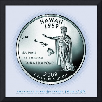 Hawaii State Quarter - Portrait Coin 50