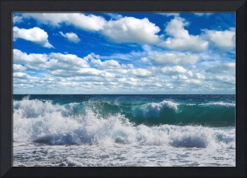 Treasure Coast Beach Seascape Florida 728