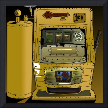 Steampunk slot machines