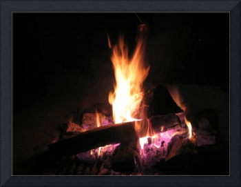 Fire to get warm - 12-02-05