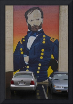 1DV972 General Sherman Mural in Lancaster